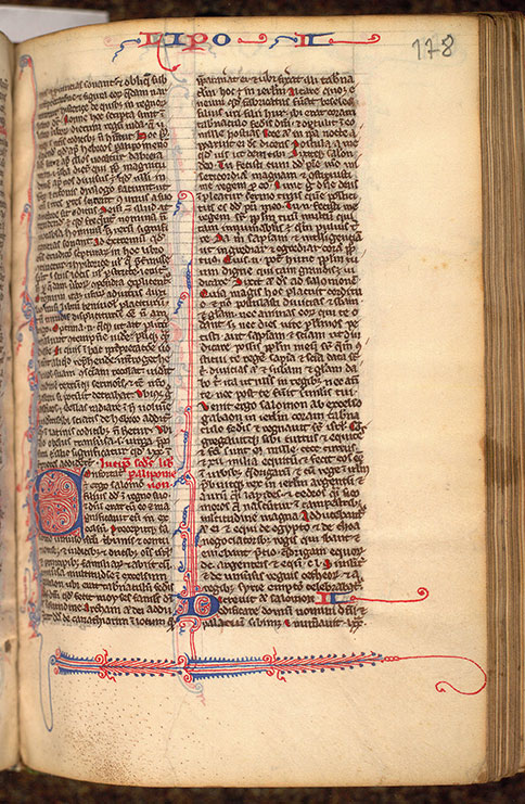 Paris, Bibl. Mazarine, ms. 0025, f. 178