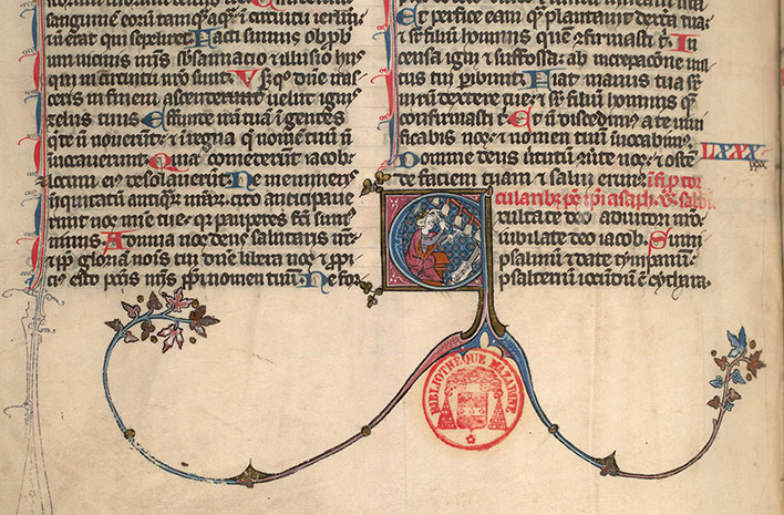 Paris, Bibl. Mazarine, ms. 0027, f. 194v