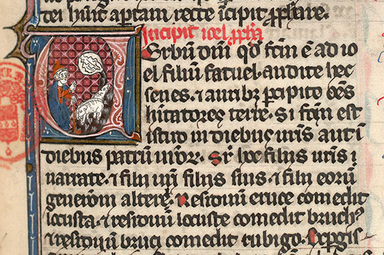 Paris, Bibl. Mazarine, ms. 0027, f. 309