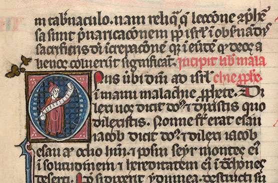 Paris, Bibl. Mazarine, ms. 0027, f. 322