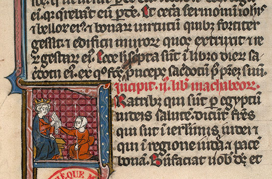 Paris, Bibl. Mazarine, ms. 0027, f. 334