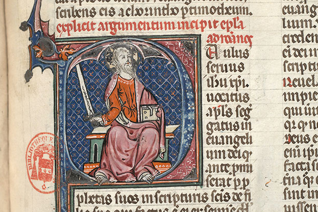 Paris, Bibl. Mazarine, ms. 0029, f. 455