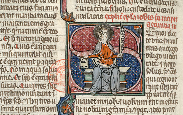 Paris, Bibl. Mazarine, ms. 0029, f. 504v