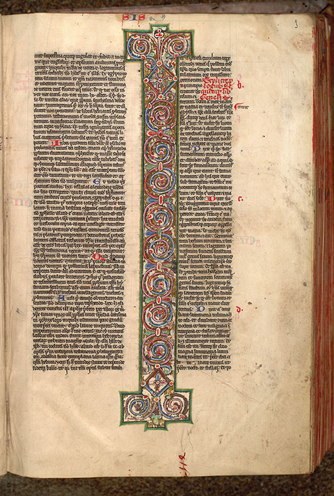 Paris, Bibl. Mazarine, ms. 0032, f. 003