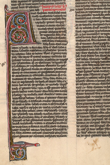 Paris, Bibl. Mazarine, ms. 0032, f. 109v