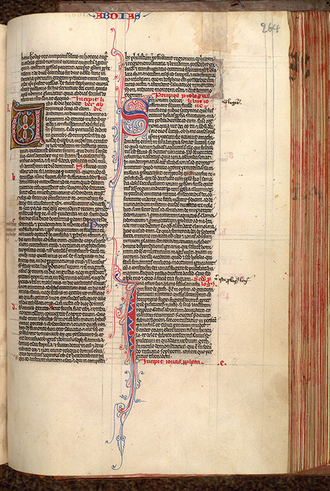 Paris, Bibl. Mazarine, ms. 0032, f. 264