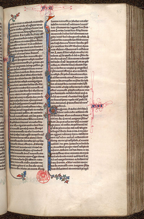 Paris, Bibl. Mazarine, ms. 0034, f. 085