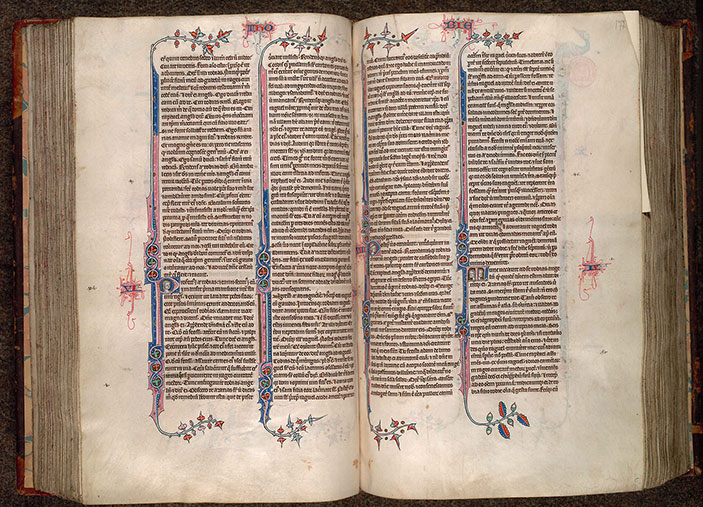 Paris, Bibl. Mazarine, ms. 0034, f. 176v-177