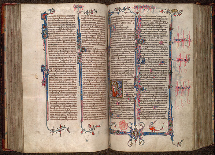 Paris, Bibl. Mazarine, ms. 0034, f. 196v-197