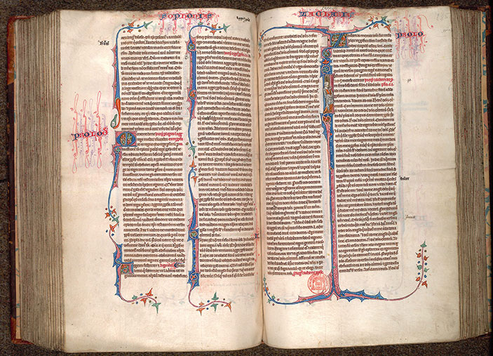 Paris, Bibl. Mazarine, ms. 0034, f. 284v-285