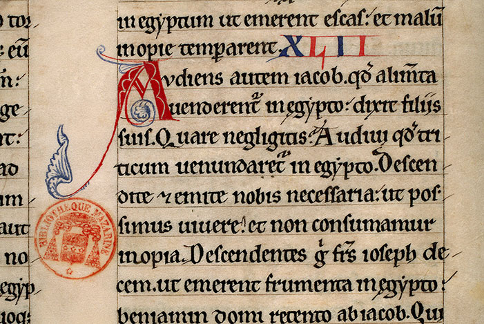 Paris, Bibl. Mazarine, ms. 0036, f. 024v