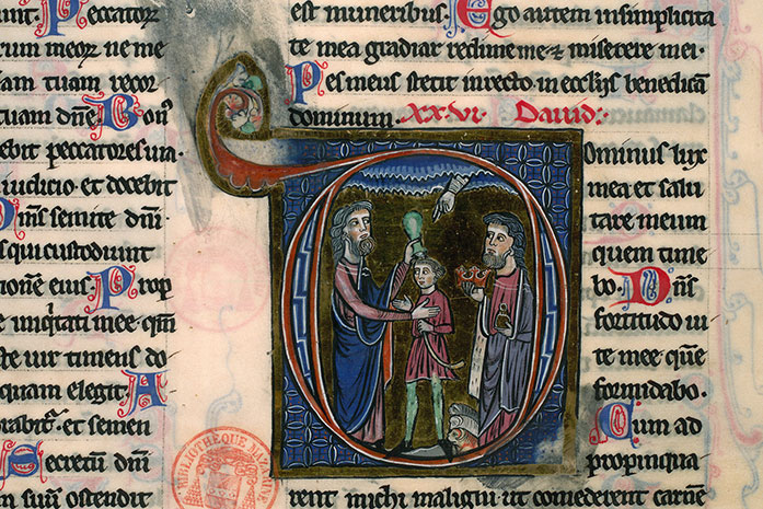 Paris, Bibl. Mazarine, ms. 0036, f. 218
