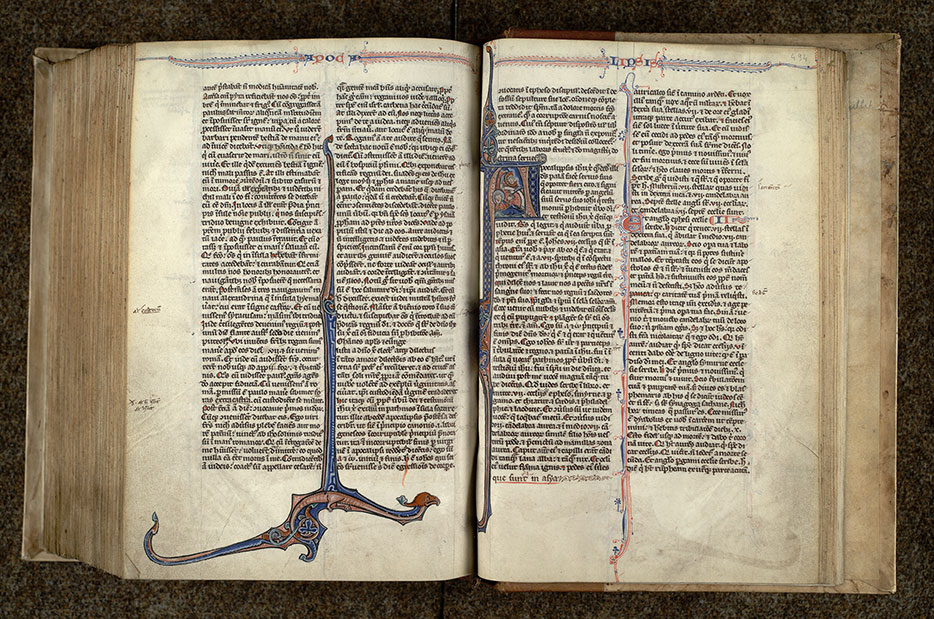 Paris, Bibl. Mazarine, ms. 0013, f. 493v-494