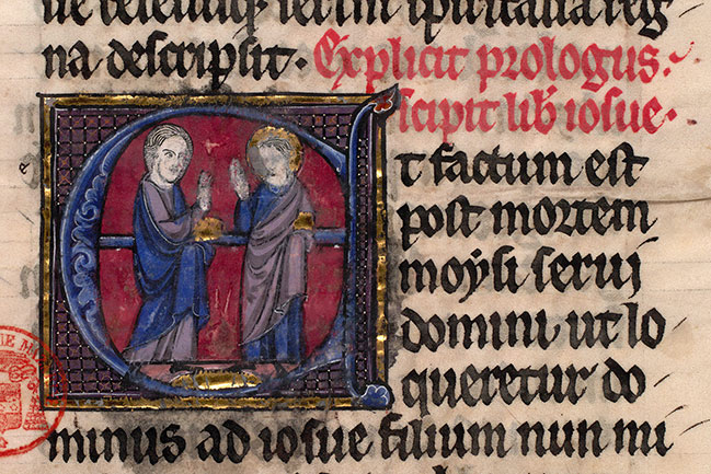 Paris, Bibl. Mazarine, ms. 0038, f. 143