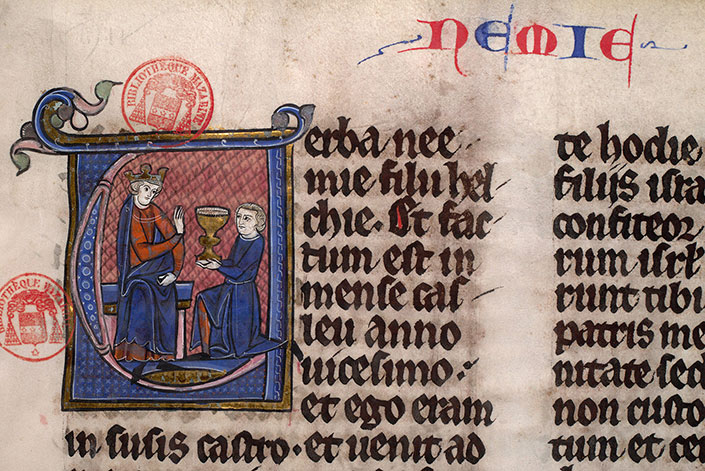 Paris, Bibl. Mazarine, ms. 0039, f. 012