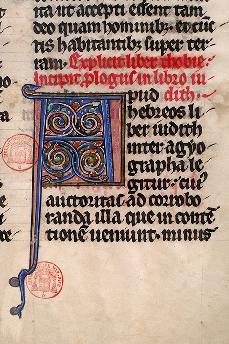 Paris, Bibl. Mazarine, ms. 0039, f. 046