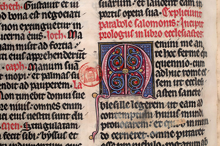 Paris, Bibl. Mazarine, ms. 0039, f. 109v