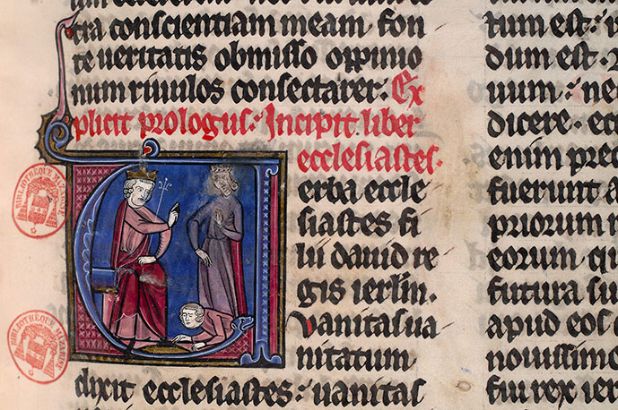 Paris, Bibl. Mazarine, ms. 0039, f. 110