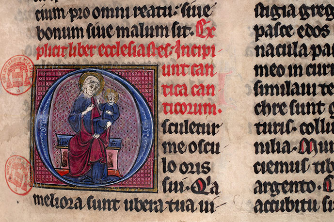 Paris, Bibl. Mazarine, ms. 0039, f. 116