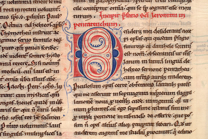 Paris, Bibl. Mazarine, ms. 0041, f. 002v