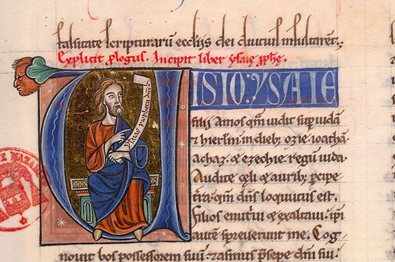 Paris, Bibl. Mazarine, ms. 0041, f. 136