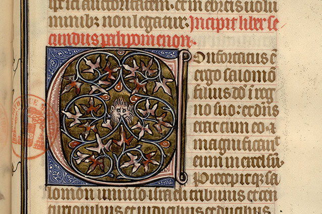 Paris, Bibl. Mazarine, ms. 0042, f. 095