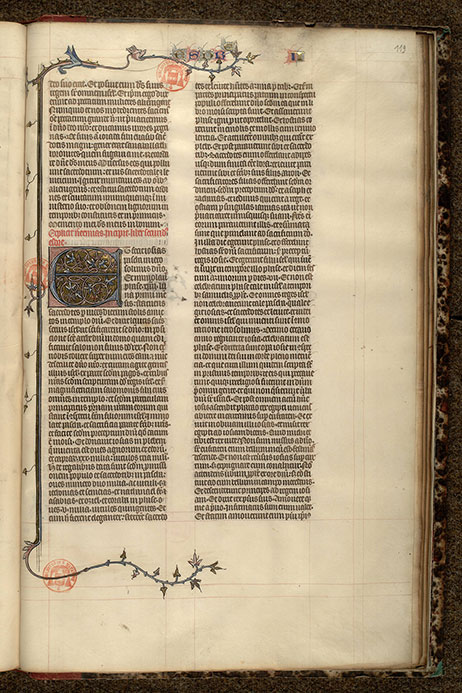 Paris, Bibl. Mazarine, ms. 0042, f. 119