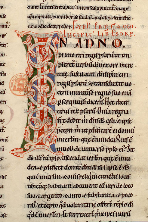 Paris, Bibl. Mazarine, ms. 0044, f. 165