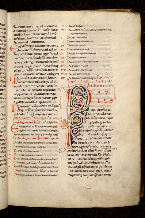 Paris, Bibl. Mazarine, ms. 0045, f. 047