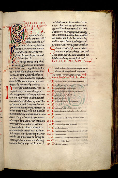 Paris, Bibl. Mazarine, ms. 0045, f. 060