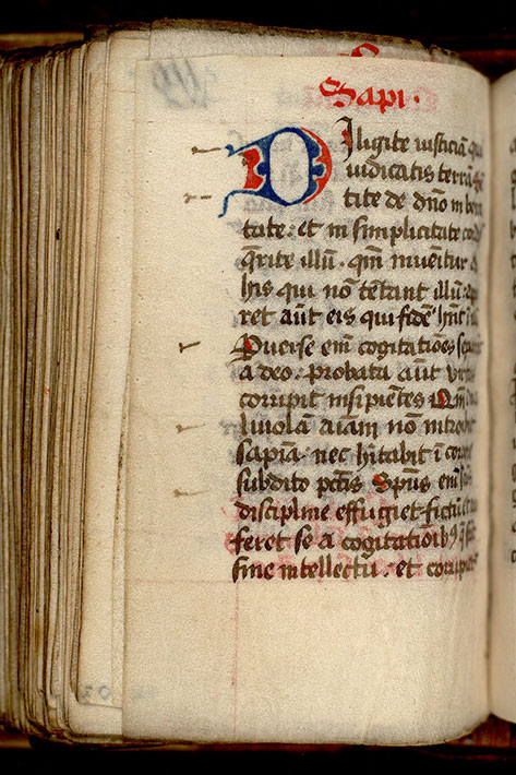 Paris, Bibl. Mazarine, ms. 0060, f. 109v
