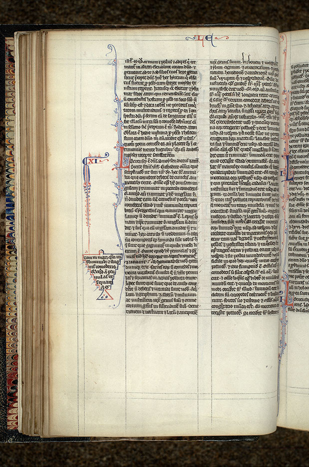 Paris, Bibl. Mazarine, ms. 0015, f. 042v
