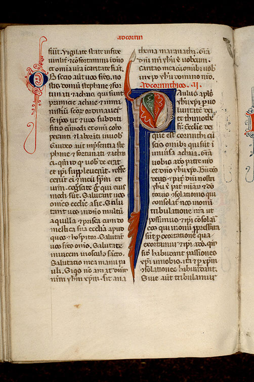 Paris, Bibl. Mazarine, ms. 0061, f. 190v