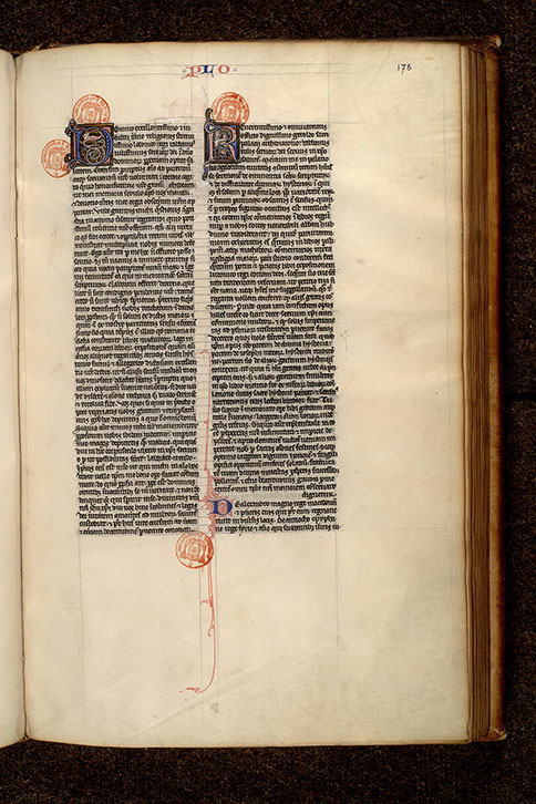 Paris, Bibl. Mazarine, ms. 0072, f. 178