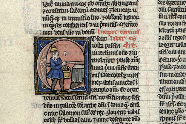 Paris, Bibl. Mazarine, ms. 0015, f. 181v