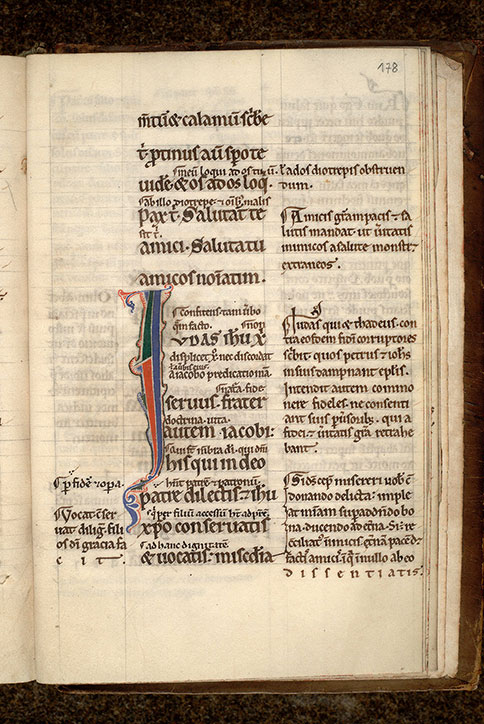 Paris, Bibl. Mazarine, ms. 0086, f. 178