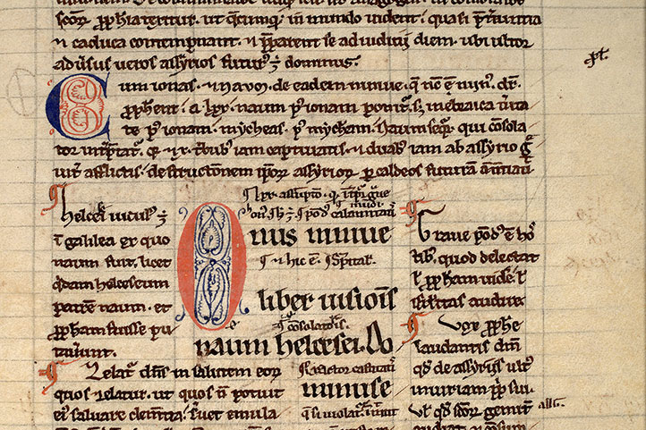 Paris, Bibl. Mazarine, ms. 0106, f. 086