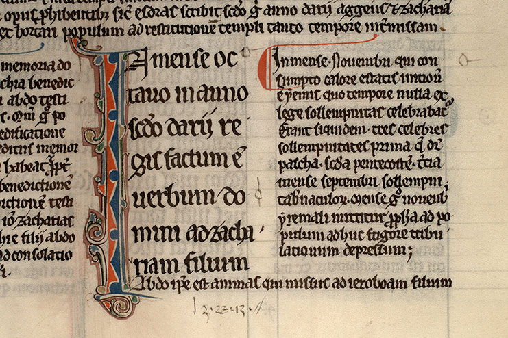 Paris, Bibl. Mazarine, ms. 0107, f. 099