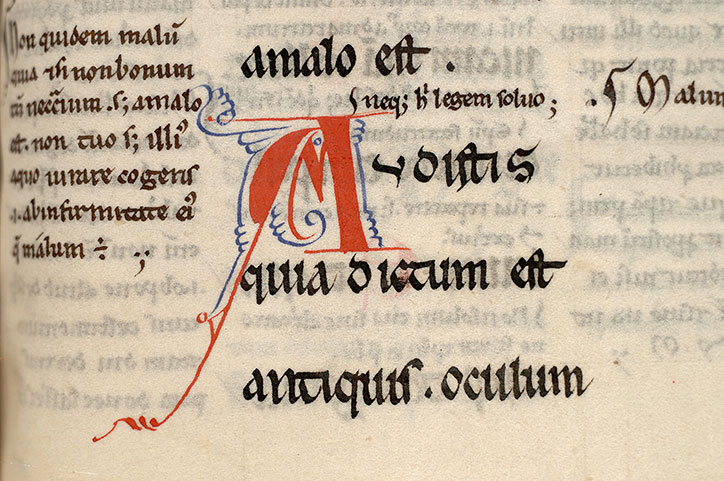 Paris, Bibl. Mazarine, ms. 0116, f. 034