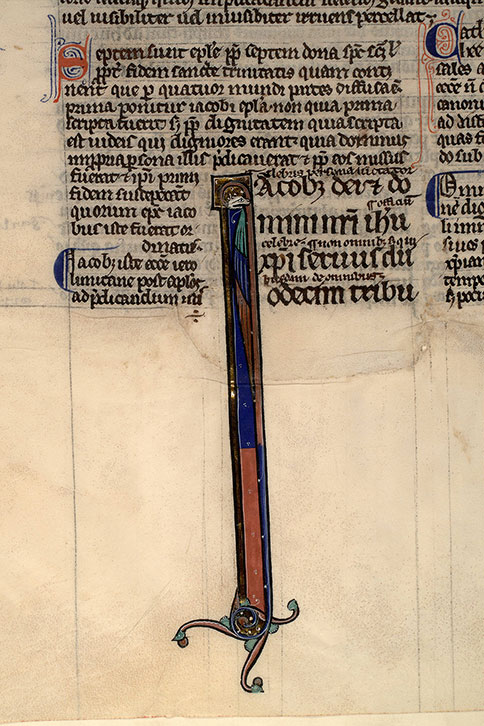 Paris, Bibl. Mazarine, ms. 0123, f. 100v