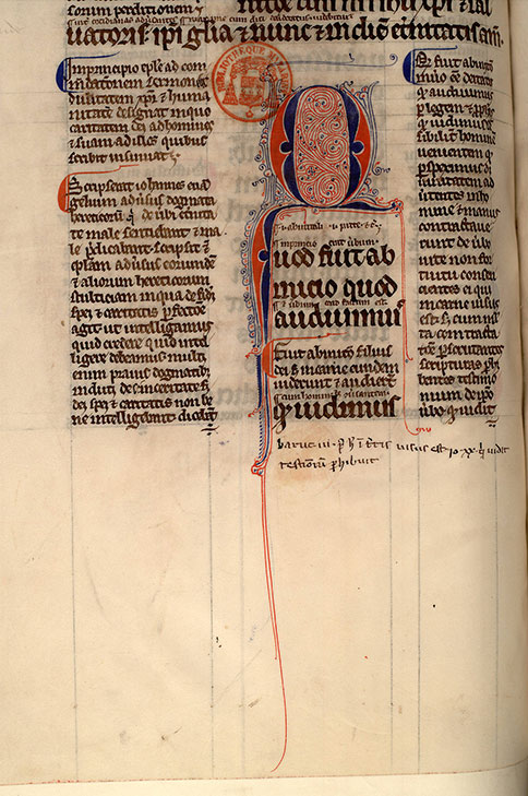 Paris, Bibl. Mazarine, ms. 0123, f. 142v
