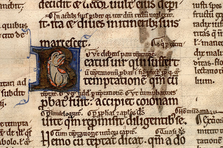 Paris, Bibl. Mazarine, ms. 0124, f. 002v