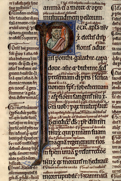 Paris, Bibl. Mazarine, ms. 0124, f. 009