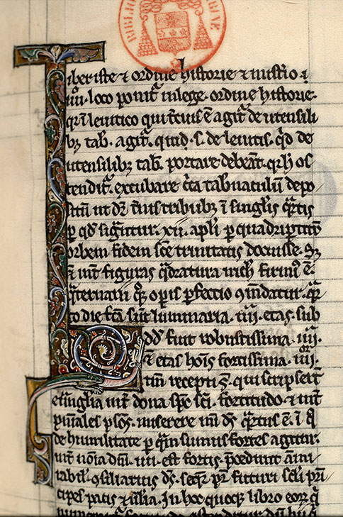 Paris, Bibl. Mazarine, ms. 0132, f. 077