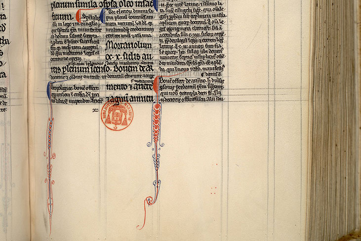 Paris, Bibl. Mazarine, ms. 0132, f. 098