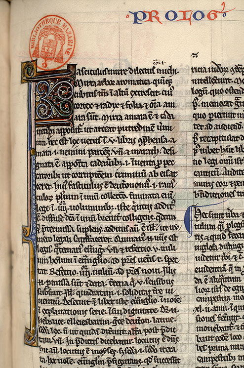 Paris, Bibl. Mazarine, ms. 0132, f. 194