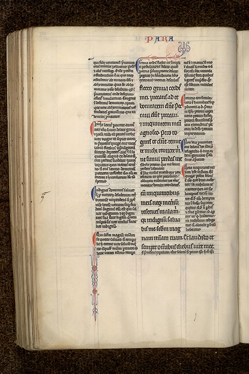 Paris, Bibl. Mazarine, ms. 0134, f. 112v