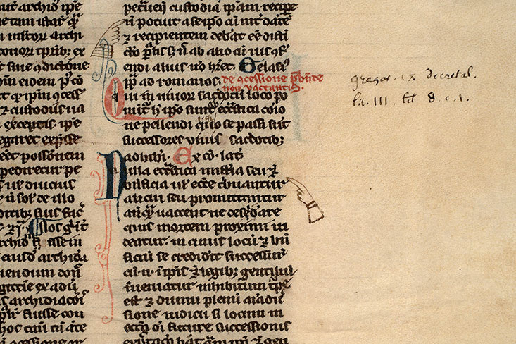 Paris, Bibl. Mazarine, ms. 0135, f. 262