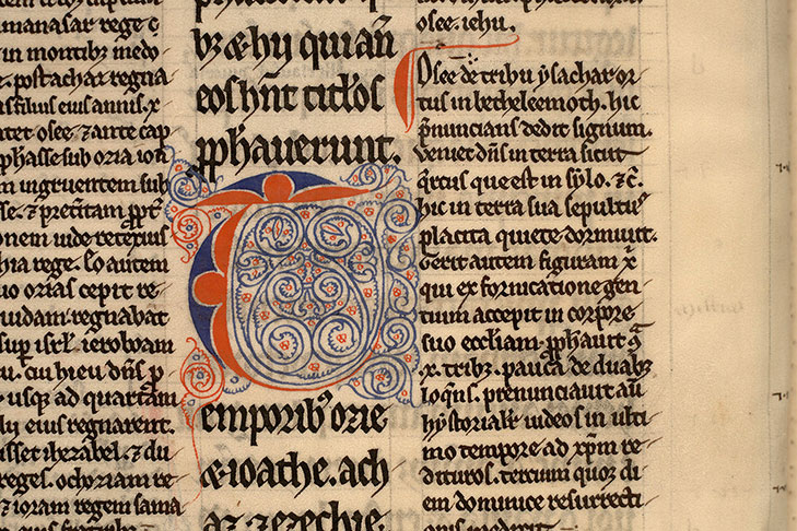 Paris, Bibl. Mazarine, ms. 0137, f. 002v
