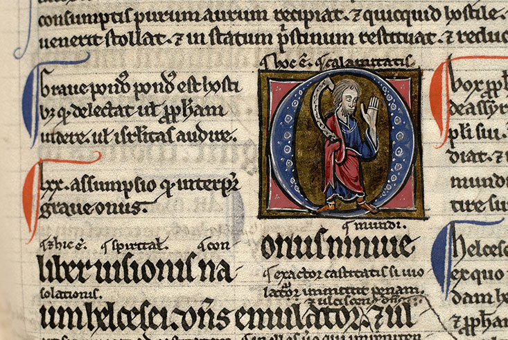 Paris, Bibl. Mazarine, ms. 0137, f. 087